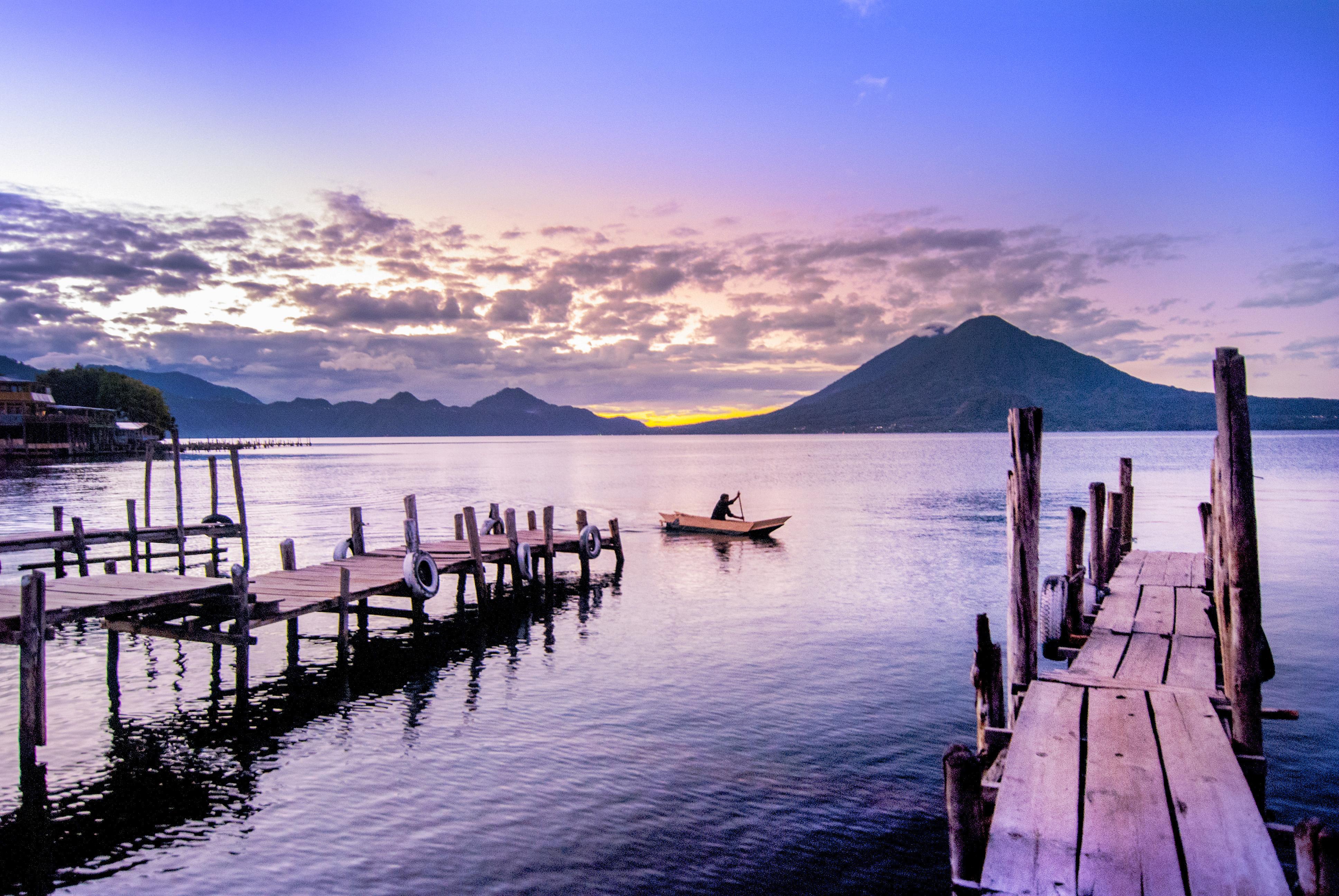 Morning on Lake Atitlán, Guatemala